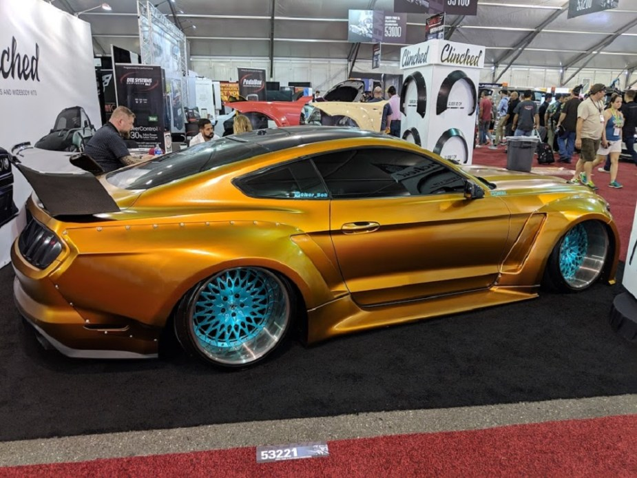 Widebody Mustang SEMA