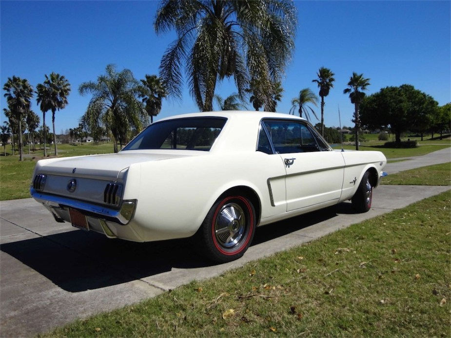 Award Winning 1964.5 Mustang Coupe with K-Code option.