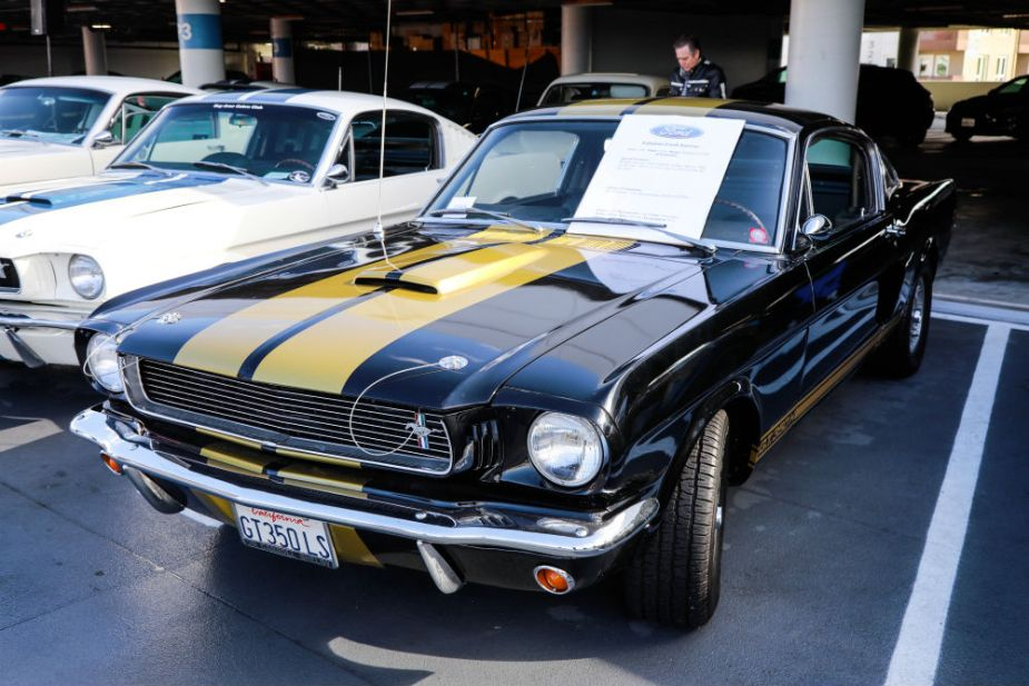 Carroll Shelby Cruise-In at the Petersen - 1966 Shelby GT350-H