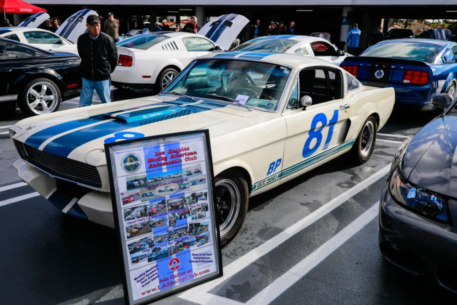 Carroll Shelby Cruise-In at the Petersen - Shelby GT350