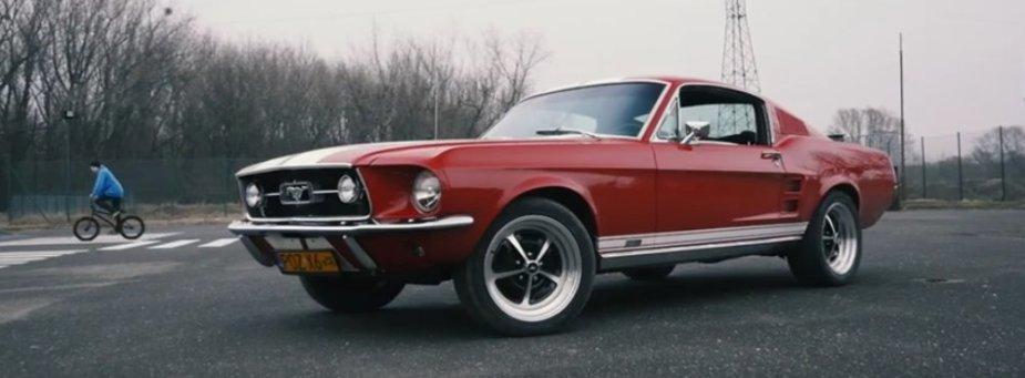 1967 Mustang GTA Front Corner