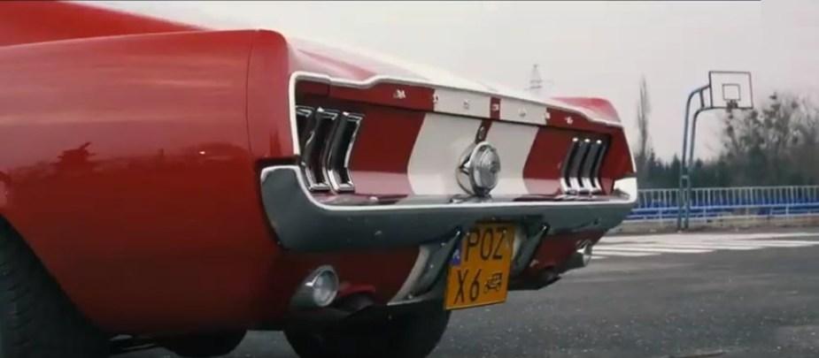 1967 Mustang GTA Rear