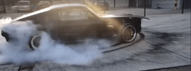 mustangforums.com Electric Mustang Fastback Passes the Burnout Test