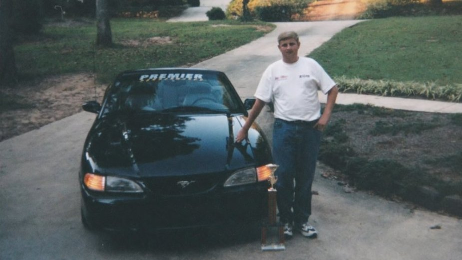 Pitts with 1994 Mustang GT