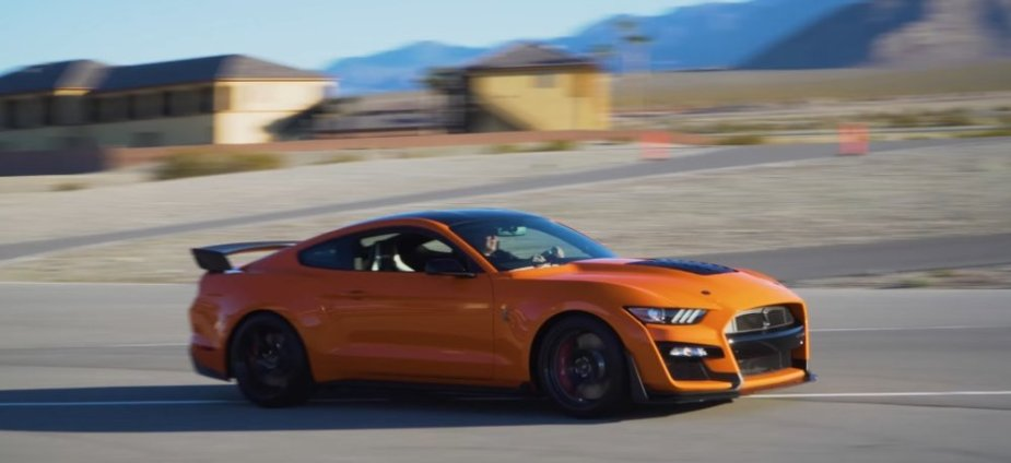 2020 GT500 Mustang on the Move
