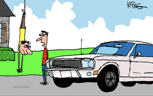 Mustang Forums Funnies - Security System
