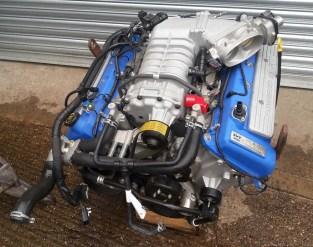 Genuine GT500 engine