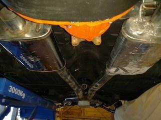 polished exhaust