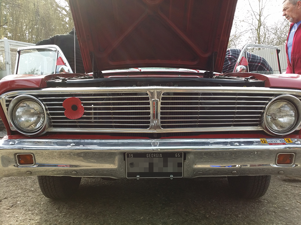 1965 Ford Falcon Ranchero Mustang Maniac