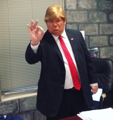Kienel as Republican candidate Donald Trump.
