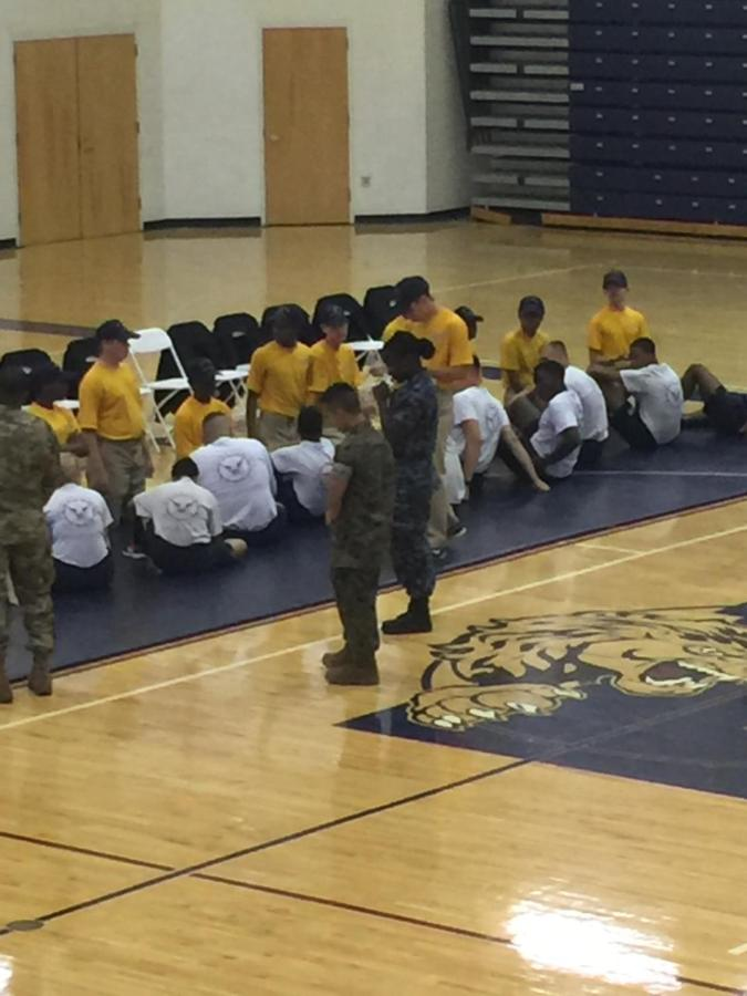 ROTC Places 4th at Luella Drill Meet