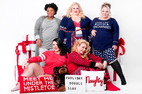 #HolidayDoubleSlay 2017 – PJs with Lane Bryant
