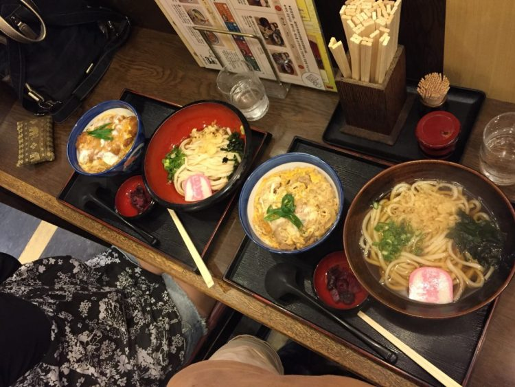 Our last meal in Japan