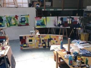 picture of the art studio