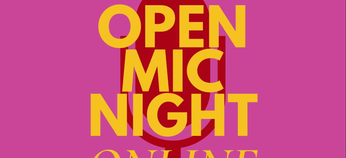 Open Mic Night [Online]: Thursday 10th September, 6pm