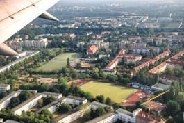 Flying into Berlin