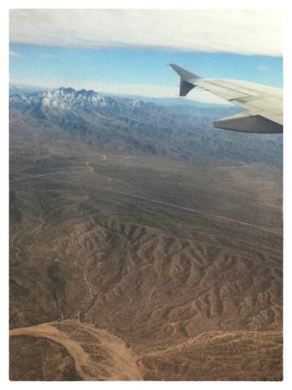 Over the American Southwest