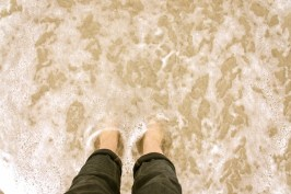 Another goal to check off the list: my feet in the Indian Ocean in Perth last May