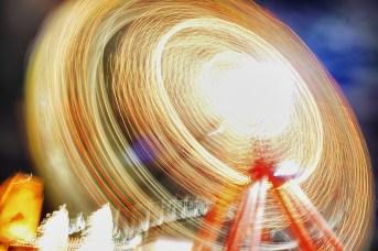The Ferris Wheel in motion