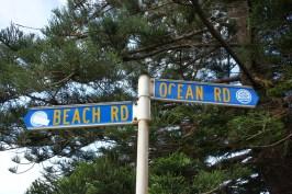 The corner of Beach & Ocean