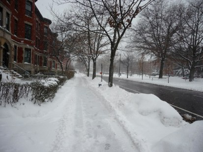 Snowy Beacon Street