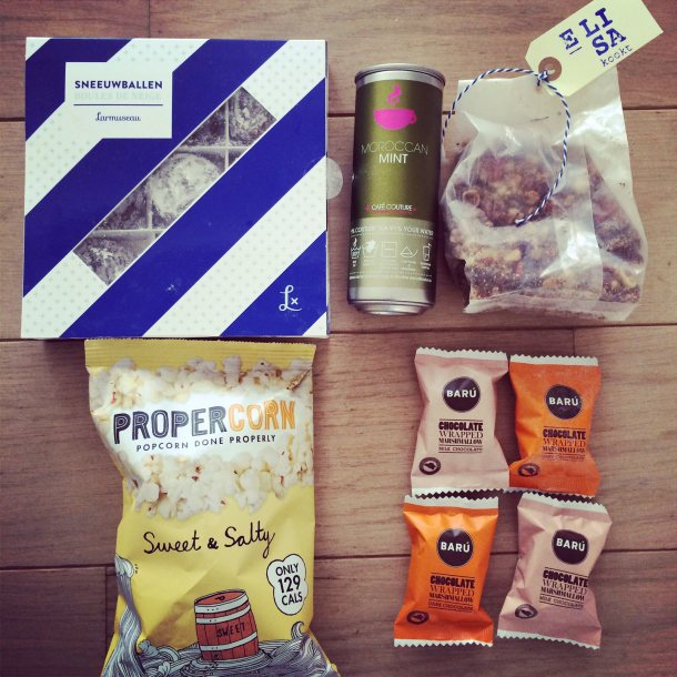 Some of the stuff inside my foodie box by Food Nomads