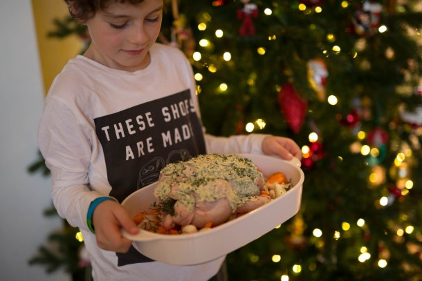 Little Chef part two: Jamie's luxe kerstkippetje