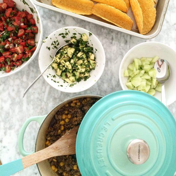 Taco Time en cook's block