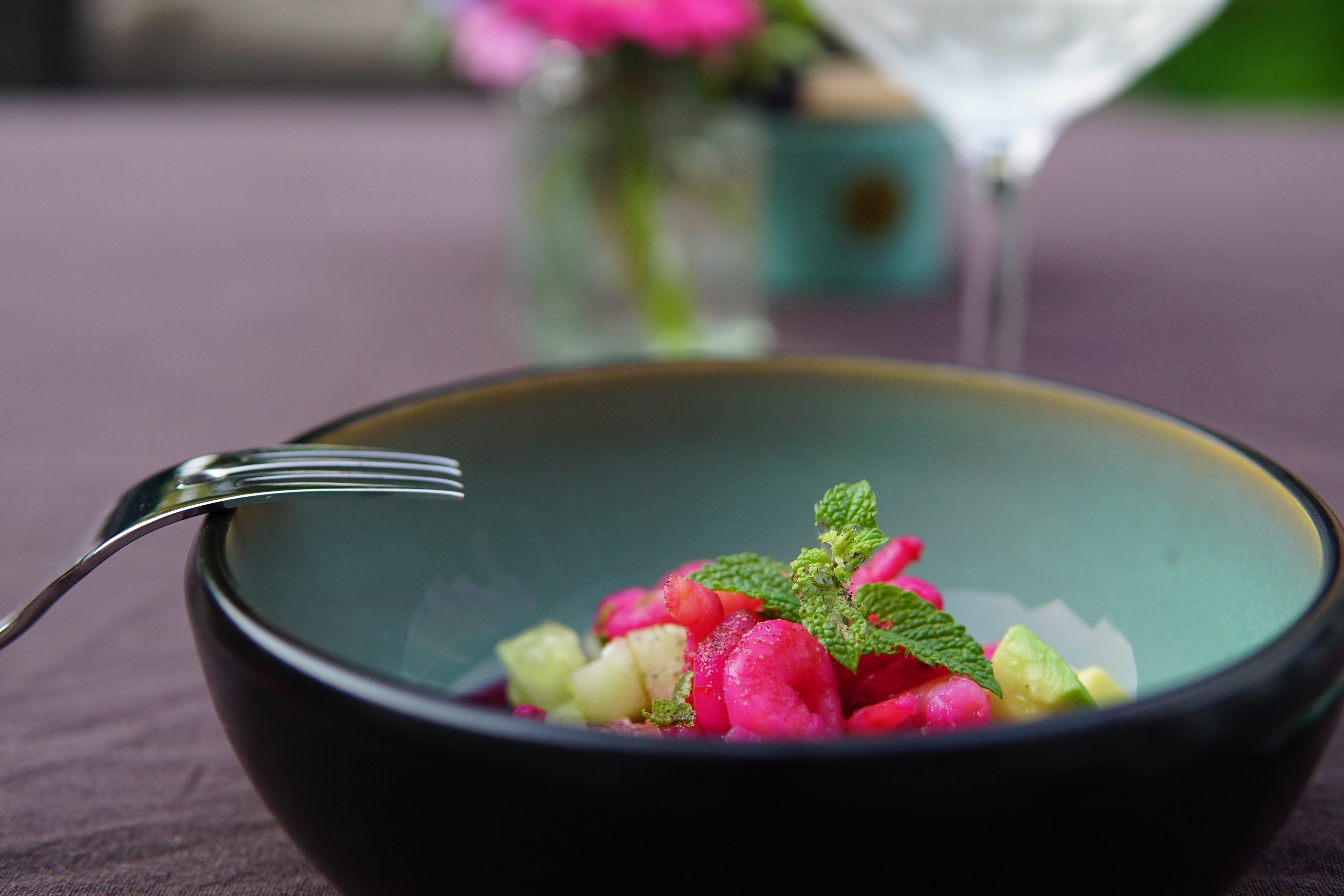 Pink Ceviche