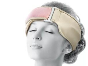 不需覆蓋在眼睛上就可刺激穴道的「眼部護理機」
