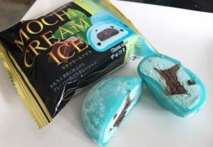 口感Q嫩又消暑♡MOCHI CREAM ICE薄荷巧克力麻糬冰淇淋