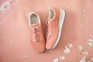 天然櫻花染色技術❀Onitsuka Tiger兩款粉嫩運動鞋3月22日起販售!