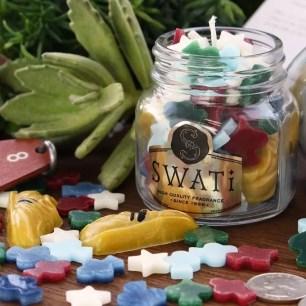 以香氛來放鬆身心♪SWATi手工蠟燭‧男性適用金平糖蠟燭限定開賣