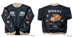 吉卜力的世界觀☆數量限定!龍貓 x崖上的波妞設計款絲質刺繡外套