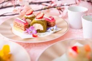 四季庭「Cafe&Restaurant」🌸3月7日起期間限定推出「櫻與抹茶的Afternoon Tea」