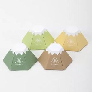 裡外皆是富士山造型♪ 共有4種日本茶的可愛茶包組「FUJICHAN」