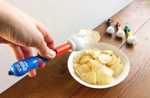終結手指的油膩感!AKARA TOMY A.R.T.S.x卡樂比☆能拿來吃洋芋片的觸控筆「Smart洋芋片」開放預約中~
