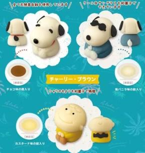 日本LAWSON限定『Taberareru Mascot 史努比』和菓子♥8/20起數量限定上市~