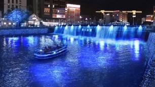 在福岡的夢幻藍色世界裡來場浪漫巡航~9/16起期間限定『青の洞窟 FUKUOKA』