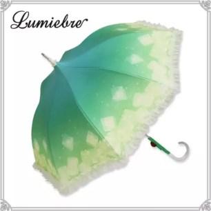 夢幻可愛晴雨兩用♡「Lumiebre 哈密瓜冰淇淋蘇打 (GEMI Collaboration傘)」