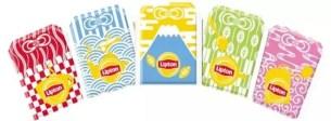 期間・數量限定☆可愛的和風傳統紋樣「Lipton 黃標 茶包 10袋 御守護身符款」