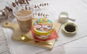 嶄新的珍珠奶茶風味♪明治「Essel Super Cup Sweet's 珍珠紅茶拿鐵」