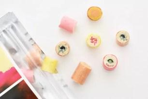 手工糖品牌「papabubble」獨特的糖果「下酒菜MIX」裝進4種不同滋味