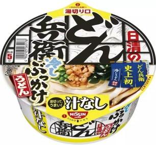 炎夏享用最對味~日清食品「日清的無湯DON兵衛 濃縮高湯淋烏龍冷麵」