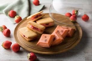 草莓甜點專售店「ICHIBIKO」新伴手禮燒菓子☆草莓費南雪、草莓奶油夾心餅乾