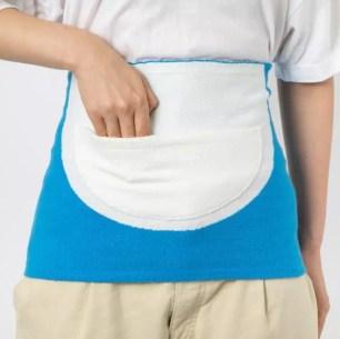 把哆啦A夢的道具穿上身!實用保暖小物「Hobonichi 保暖肚圍 百寶袋」