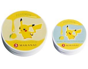 和風系美妝品牌「MAKANAI cosmetics」✿寶可夢包裝護手霜、潤脣膏