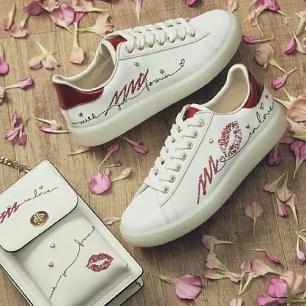 運動鞋品牌『+diana』2021年西洋情人節數量限定☆運動鞋、迷你肩背包