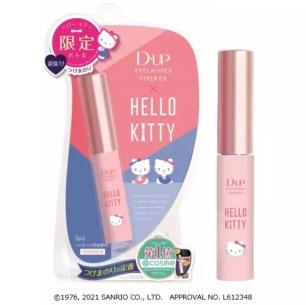 熱賣超過20年!三麗鷗聯名數量限定版「D-UP 長效假睫毛黏著劑 EX KittyS5」