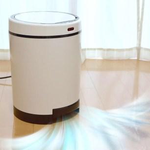 自動吸走垃圾的二合一吸塵垃圾桶!THANKO「Cleaner Box」